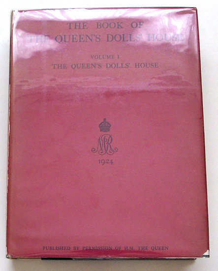 The Book of the Queen's Dolls' House 2 Volumes Numbered Limited Edition 1924