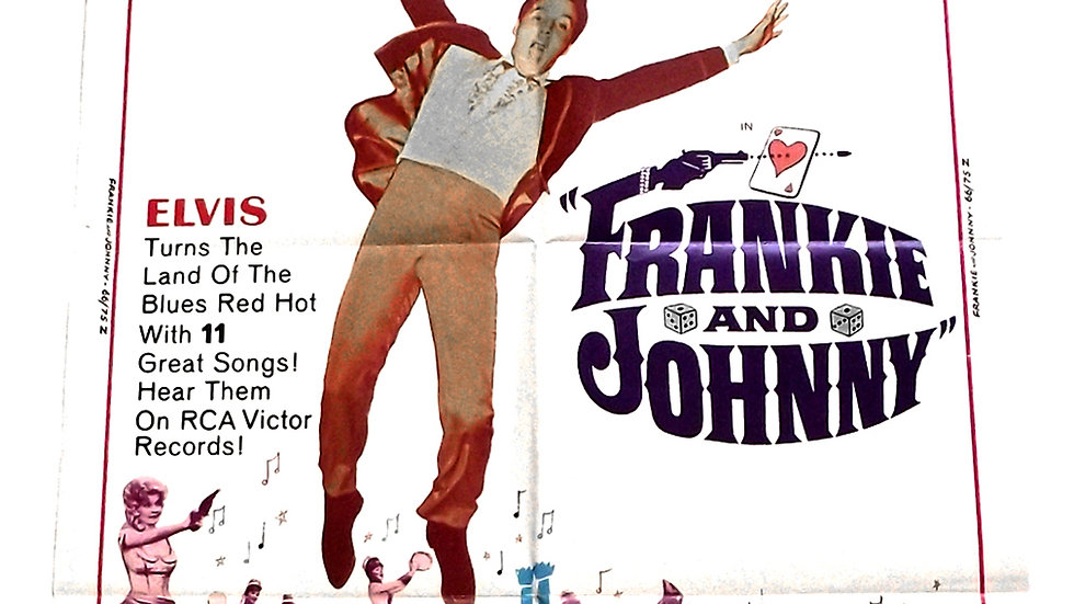 Frankie and Johnny U.S. One-Sheet Film Poster 1966