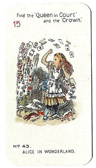 Alice In Wonderland Complete Set of 48 by Carreras Ltd 1930