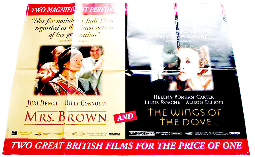 Mrs Brown British Quad Film Poster 1998