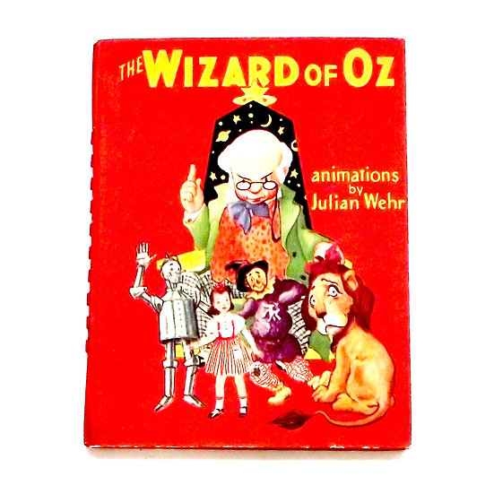 The Wizard of Oz Moveable Book First Edition 1944