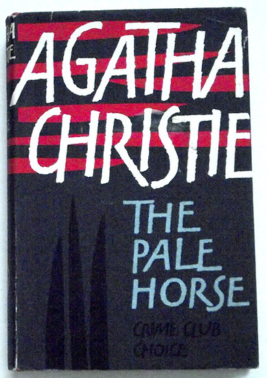 Agatha Christie The Pale Horse First Edition Book 1961