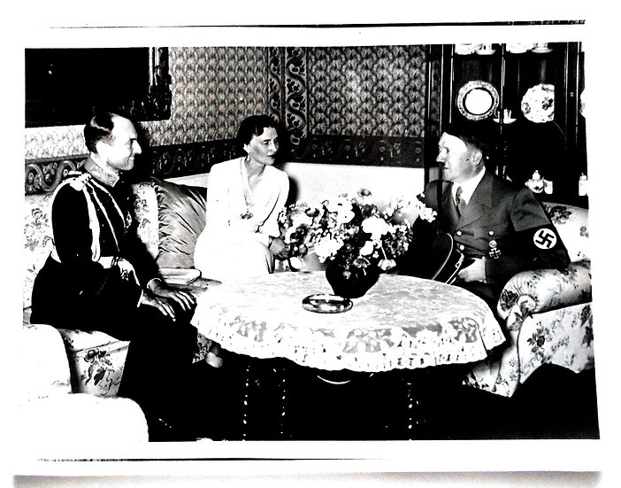 Rare Collection of 5 Press Photographs Featuring Adolf Hitler and Goering