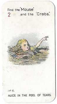 Alice-In-Wonderland-Cigarette-Cards-No-6