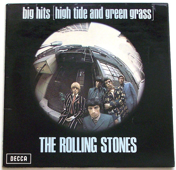 The Rolling Stones Big Hits [High Tide and Green Grass] Stereo LP 1966