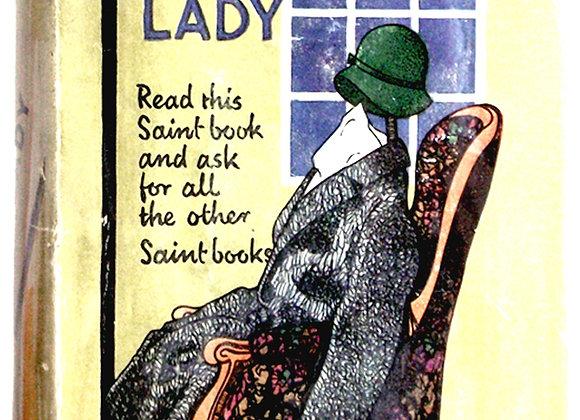 Leslie Charteris She Was a Lady Saint Book circa 1938