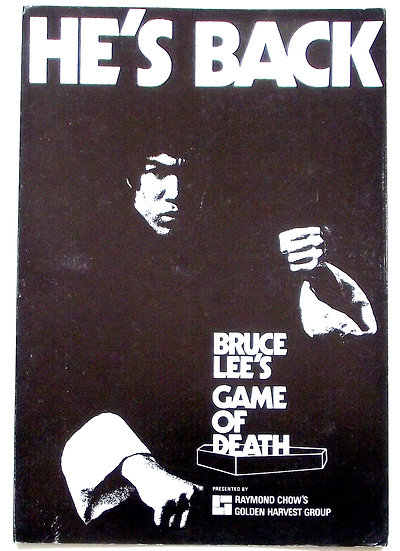 Bruce Lee Game of Death Rare Film Synopsis 1972