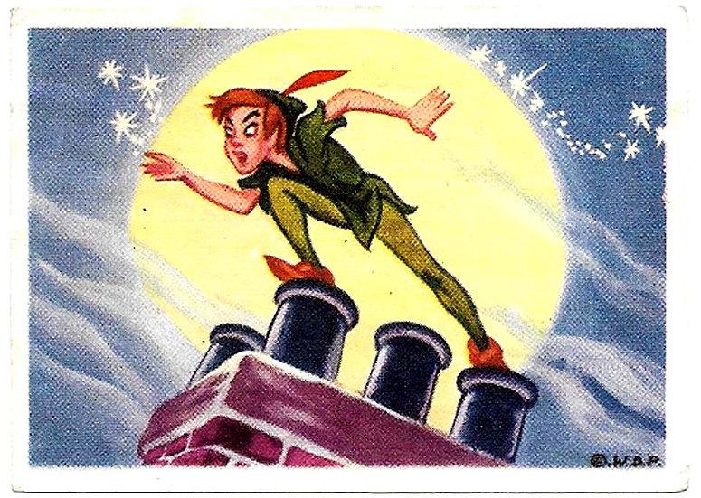 De Beukelaer Walt Disney Peter Pan Complete Set of 125 Trading Cards 1958