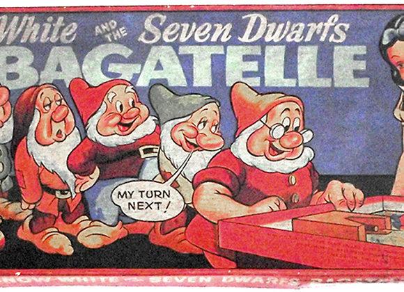 Walt Disney Snow White and the Seven Dwarfs Bagatelle 1937
