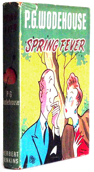 P.G. Wodehouse Book Spring Fever Dust Jacket