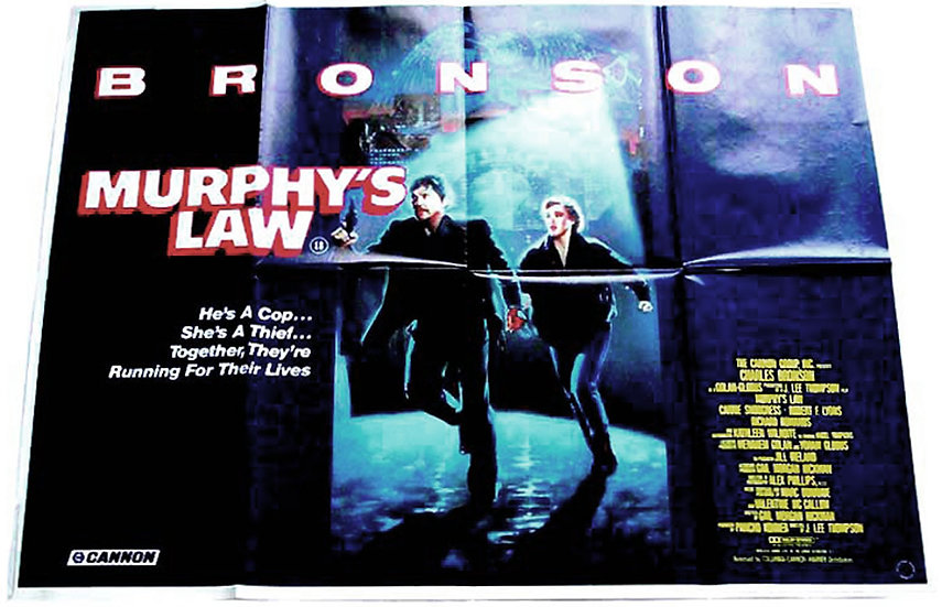 Murphy's Law British Quad Film Poster 1986