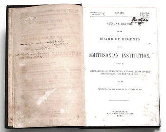 Smithonian-Report-1856-II-2-Title-Page.j