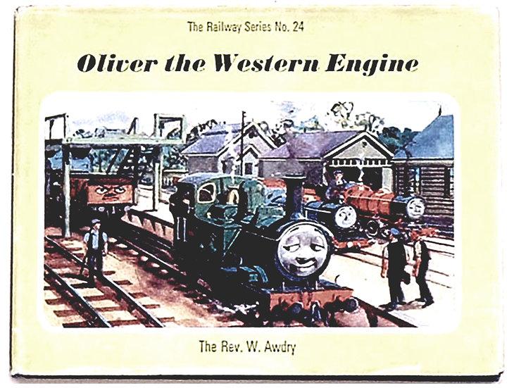 Rev W. Awdry Oliver the Western Engine 1969