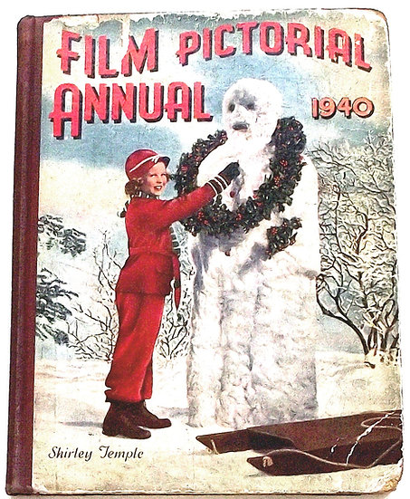 Film Pictorial Annual 1940 Film Book