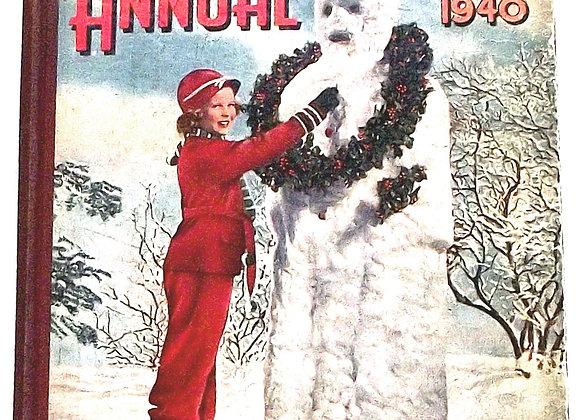 Film Pictorial Annual 1940 Film Book