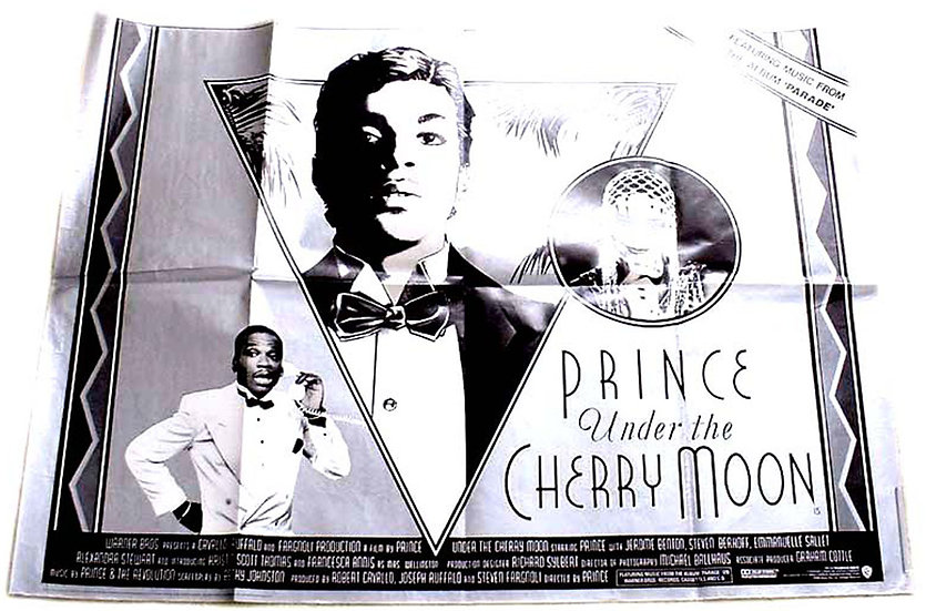 Prince Under the Cherry Moon Film Poster 1986