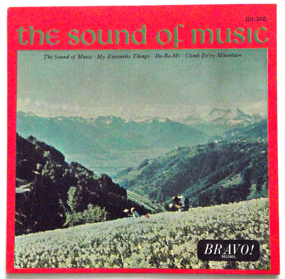 The Sound Of Music Soundtrack EP 1965