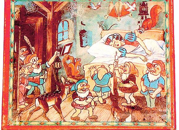 Snow White Puzzle Blocks circa 1938