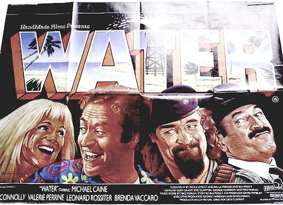 Water British Quad Film Poster 1985