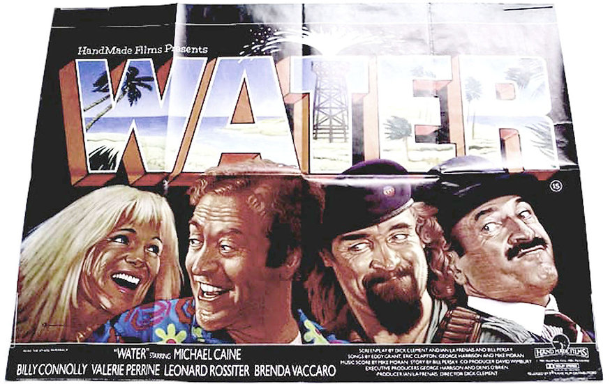 Water British Quad Film Poster 1985