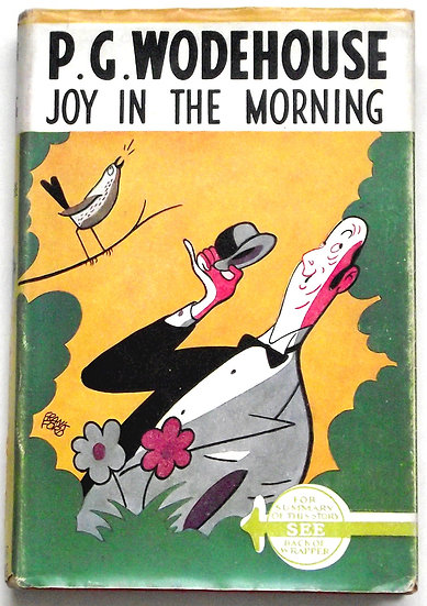 P.G. Wodehouse Joy In The Morning Dust Jacket