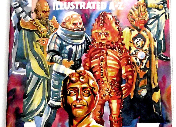 Doctor Who Illustrated A to Z First Edition Book 1985