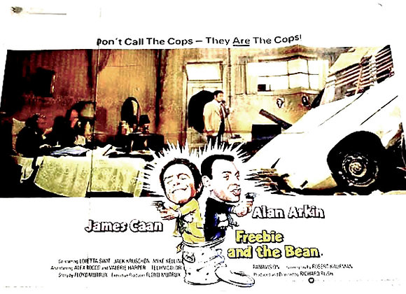 Freebie and the Bean Film Poster 1974