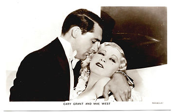 Cary-Grant-and-Mae-West-Film-Partners-Po