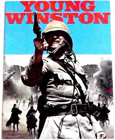 Young Winston Starring Simon Ward Film Programme 1972