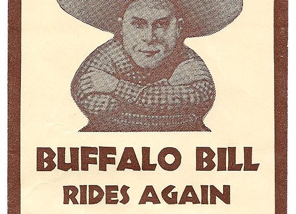 Buffalo Bill Rides Again Early Twentieth Century Toy