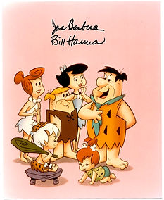 Hanna-Barbera-Signed-Flintstones-Photogr