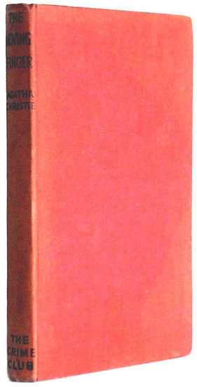 Agatha Christie The Moving Finger First Edition Book 1943