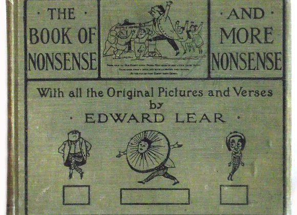 Edward Lear The Book of Nonsense To Which Is Added More Nonsense 1919