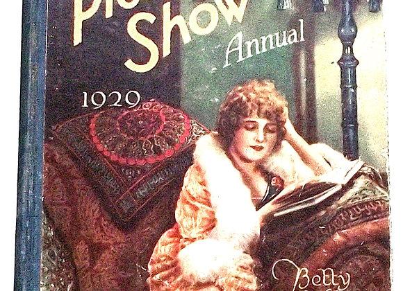 The Picture Show Annual 1929 Film Book