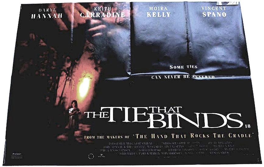 Darryl Hannah & Keith Carradine The Tie That Binds British Quad Film Poster 1995