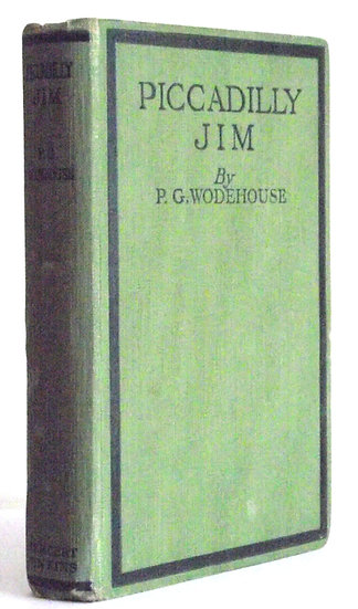 P.G. Wodehouse Book Piccadilly Jim