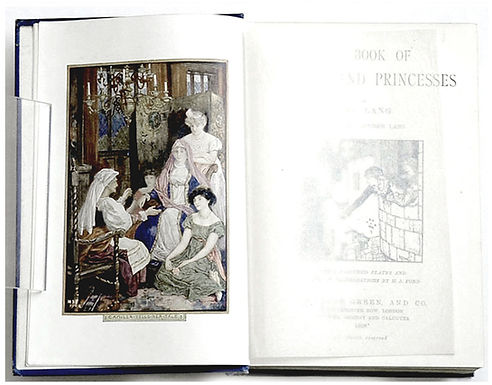 Andrew-Lang-Book-Prince-and-Princesses-I