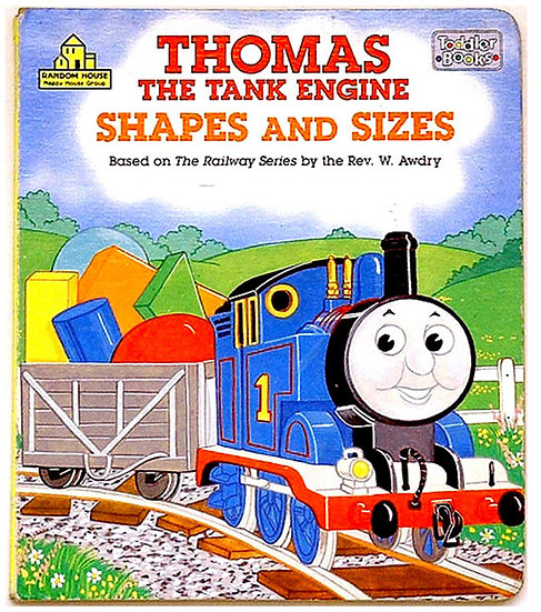 Christopher Awdry Shapes and Sizes 1991 Signed Book