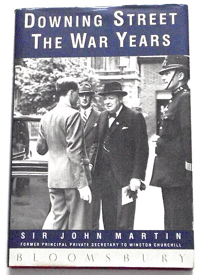 Downing Street The War Years First Edition 1991