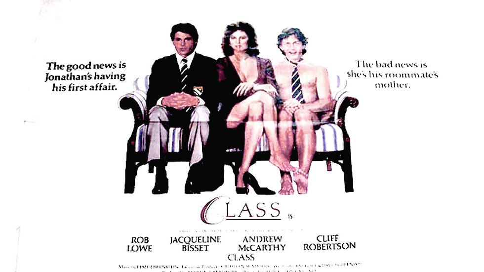 Class British Quad Film Poster 1983