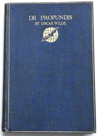 Oscar Wilde De Profundis First Edition Book 1905