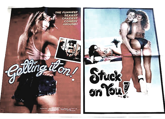 Stuck On You & Getting It On Film Poster 2003
