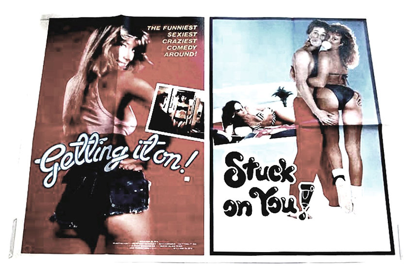 Stuck On You & Getting It On Double Bill Film Poster 2003