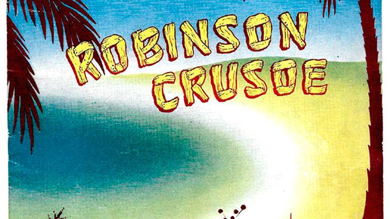 Robinson Crusoe London Palladium Theatre Programme 1957