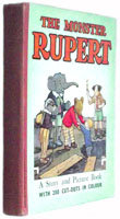 Mary Tourtel Book The Monster Rupert Book First Edition 1950