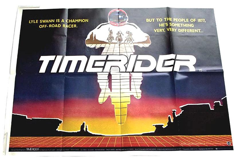 Timerider Film British Quad Poster 1982
