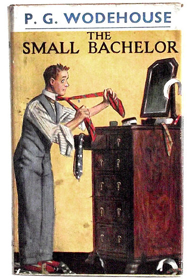 P.G. Wodehouse The Small Bachelor 1941 Dust Jacket