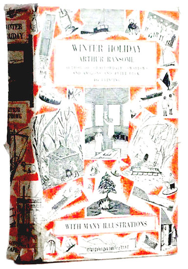 Arthur Ransome Winter Holiday First Edition Book Fourth Impression 1936