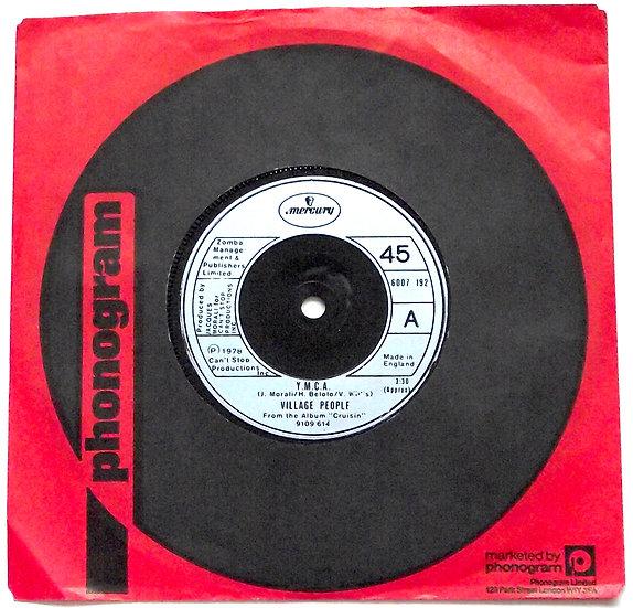 Village People Y.M.C.A. & The Women Single Mercury 6007 192 1978