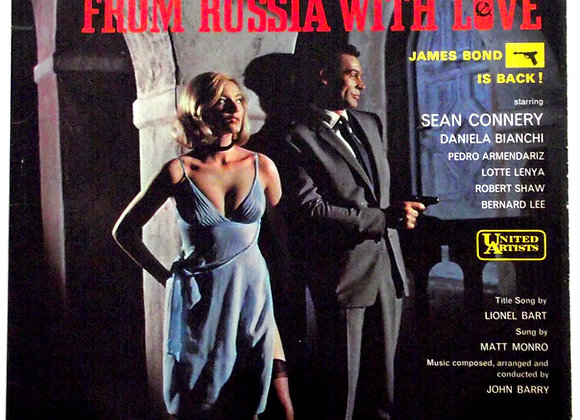 James Bond From Russia With Love LP Soundtrack 1963
